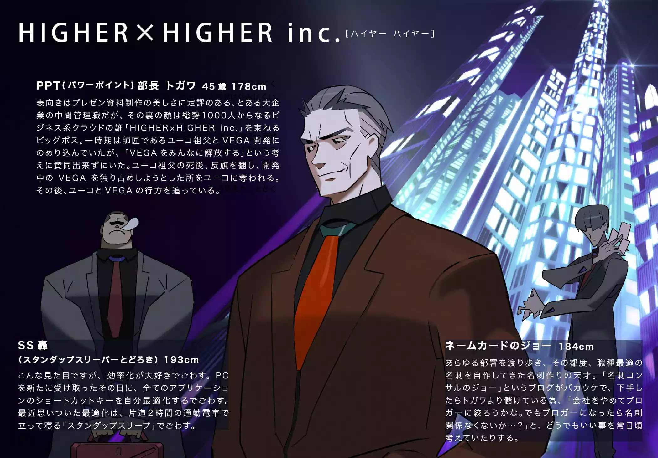 HIGHER × HIGHER inc.
